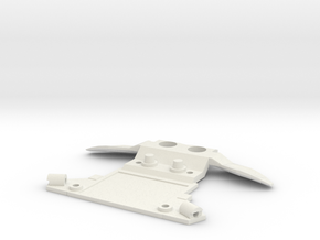 Subchassis V7 Honda Front Holders in White Strong & Flexible