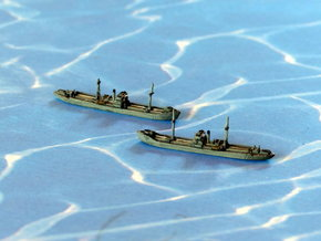 German WWII Hansa Type 3000to Freighter 1/2400 in Smooth Fine Detail Plastic