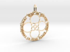In girum imus nocte (with pattern) in 14K Yellow Gold