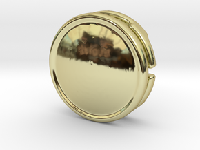 CM-BASICCHAMDOME1.25 in 18K Gold Plated