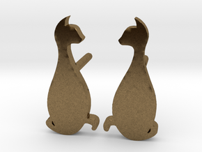 Cat Studs (Ver. 3) in Natural Bronze
