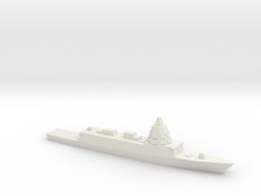 ESPS F-110 Frigate, 1/2400 in White Natural Versatile Plastic