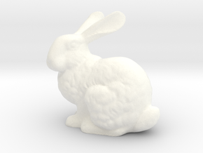 Bunny in White Processed Versatile Plastic