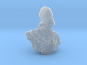 Bust of Athena of Velletri, goddess of technology in Smooth Fine Detail Plastic