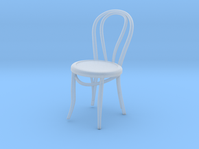 Miniature 1:18-ThonetChair (Not Full Size) in Smooth Fine Detail Plastic