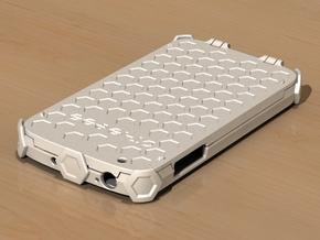 Samsung Galaxy S4 active - i9295 - limp flip case in White Natural Versatile Plastic