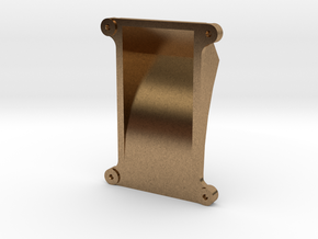 No. 23 - Air Pump Support .625 Plus 1% in Natural Brass