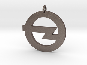 Foo Fighters Logo Pendant 1 (Customizable) in Stainless Steel