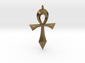 Toschlog Special Swept Ankh in Natural Bronze