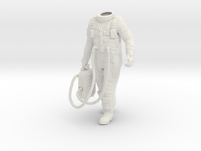 1:6 Gemini Astronaut / Body Nr 2 in White Strong & Flexible