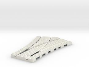 P-165stw-half-y-point-250r-100-live-w-3a OO gauge in White Natural Versatile Plastic