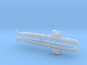 PLA[N] 093 Submarine x2, 1/2400 in Smooth Fine Detail Plastic