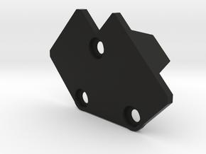 X8R Mount Cover in Black Natural Versatile Plastic