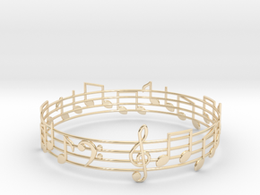Bracelet Song in 14k Gold Plated Brass