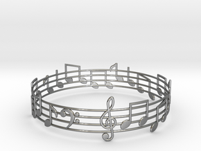 Bracelet Song in Fine Detail Polished Silver