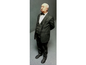 1:32 scale Alfred standing FUD in Smoothest Fine Detail Plastic