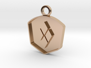 Co-Founder's Impact Award in 14k Rose Gold Plated Brass