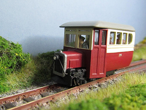 009 Donegal Irish Railcar  in Frosted Ultra Detail