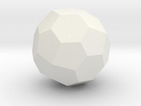 TC4b Hohl 2 in White Natural Versatile Plastic