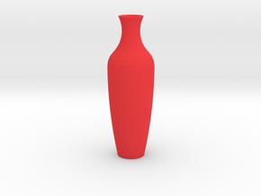 Amphor Vase Large in Red Processed Versatile Plastic