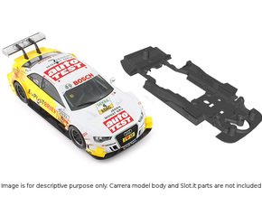 S01-ST2 Audi A5 DTM Chassis STD/STD in Black Strong & Flexible