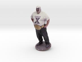 Mr. Wrestling X in Full Color Sandstone