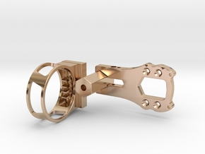 The Rise of Tomb Raider - Sight in 14k Rose Gold Plated Brass