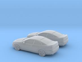 1/200 2X 2006 Pontiac GT in Smooth Fine Detail Plastic