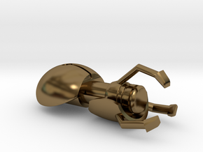 Portal Gun in Polished Bronze
