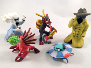 2 Inch Monsters: Batch 12 in Full Color Sandstone