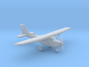 Cessna 172 - 1:120scale in Smooth Fine Detail Plastic