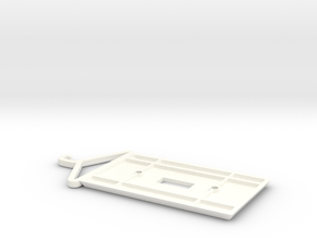 Switch With Hanger in White Processed Versatile Plastic
