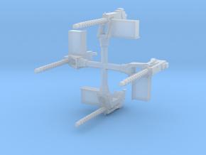 EQ18 M1919A4 on M25 Pedestal Mount (1/48) in Smooth Fine Detail Plastic