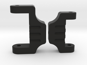 Adjustable rear suspension for Tamiya Boomerang in Black Natural Versatile Plastic