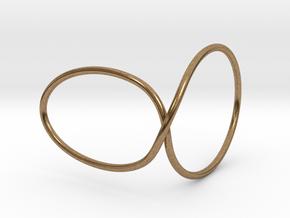 Thumb Cuff in Raw Brass