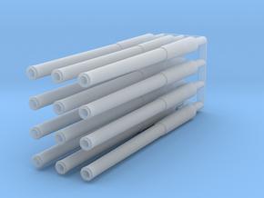 14 Inch Gun Barrel X 12 1 144 in Smooth Fine Detail Plastic