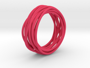 Nest Ring in Pink Strong & Flexible Polished