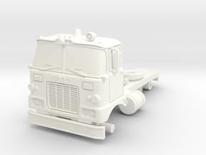 1/87 Super Pumper/Tender Cab in White Processed Versatile Plastic