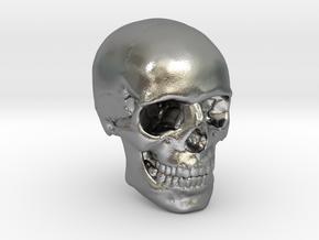1/24  Human Skull Crane Schädel че́реп in Natural Silver