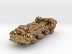 Military Truck in Natural Brass