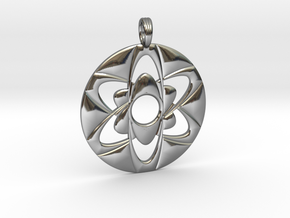 SIXWAVE in Fine Detail Polished Silver