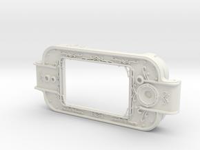 MPDA Screen Faceplate (Screen-Accurate Size) in White Natural Versatile Plastic