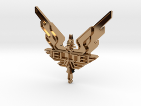 Elite - wings / badge in Polished Brass