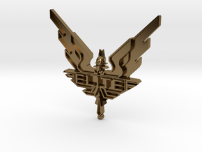 Elite - wings / badge in Polished Bronze