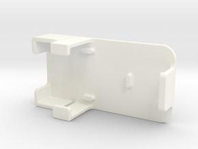 CaliperCover in White Processed Versatile Plastic
