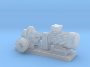 Centrifugal Pump #1 (Size 1) in Smooth Fine Detail Plastic