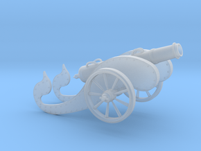 Mini Ancient Cannon    in Smoothest Fine Detail Plastic