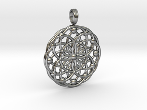 ANCIENT PULSAR in Fine Detail Polished Silver