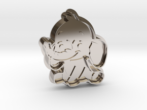 Cookie Cutter - Animal - Elephant in Platinum