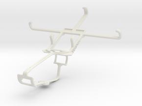 Controller mount for Xbox One & Allview P6 Quad Pl in White Natural Versatile Plastic